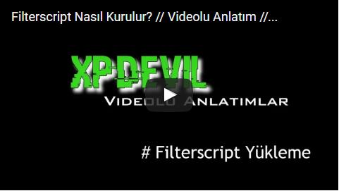 Filterscript Kurulumu